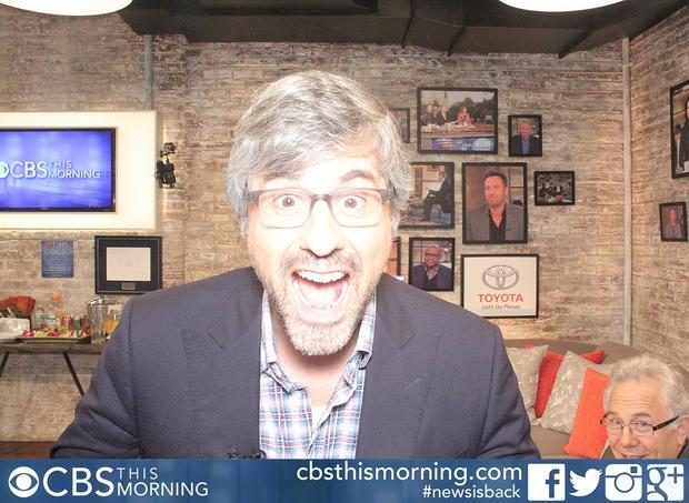 Mo Rocca photo booth