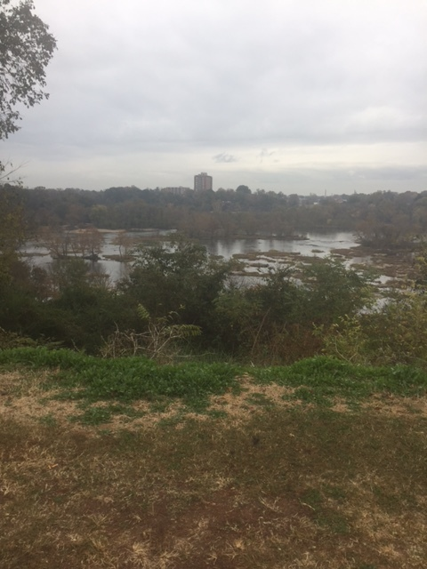 View of the James River from Hollywood Cemetery, 11/16