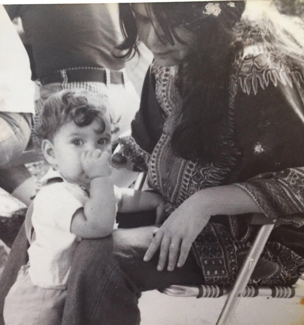 Me and my mama, 1976