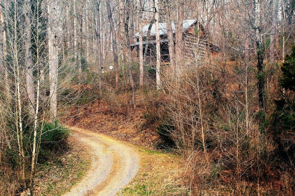 unearthing-writing-retreat-cabin-road.JPG