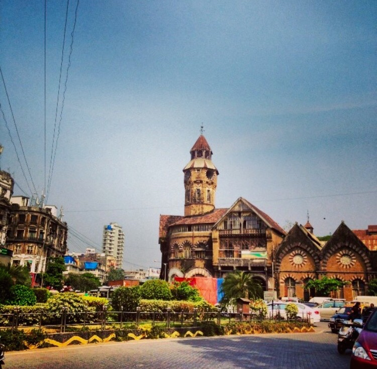 "Crawford Market, mumbai, Photo taken by JMF.  "" I have colorful memories of this place and the people there. - JMF"""