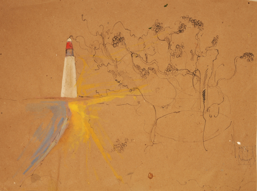 Lighthouse, ink and guashce .jpg