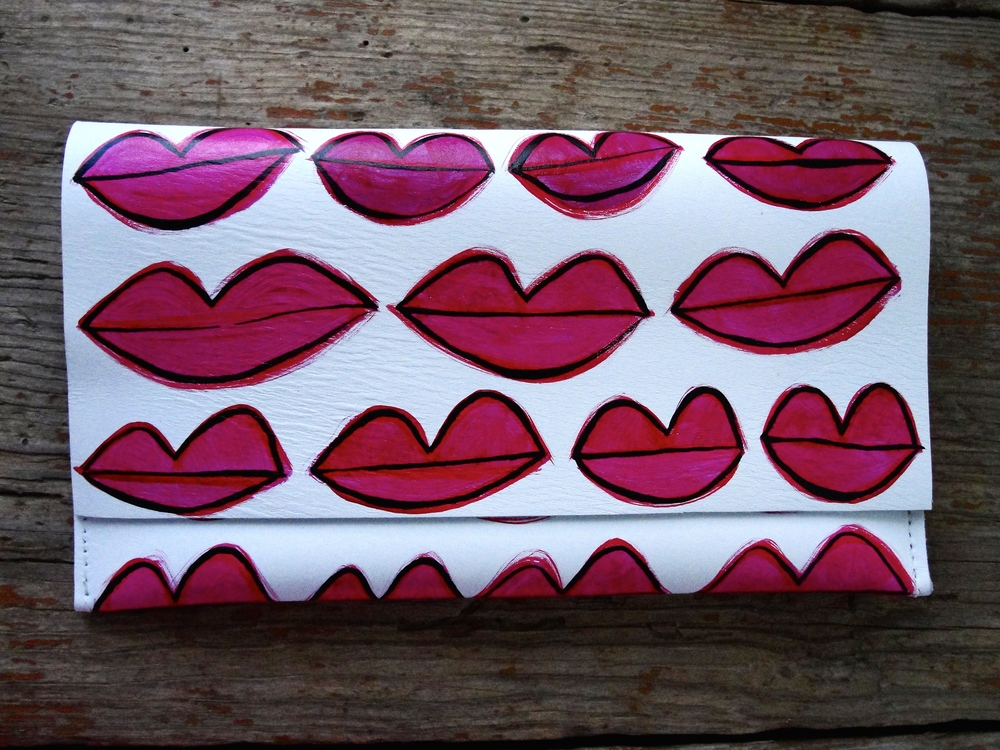 LIPSTICK 1 Leather Evening Bag - shop here!