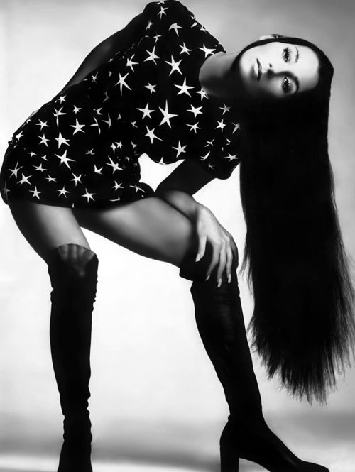 CHER - VOGUE, 1969.