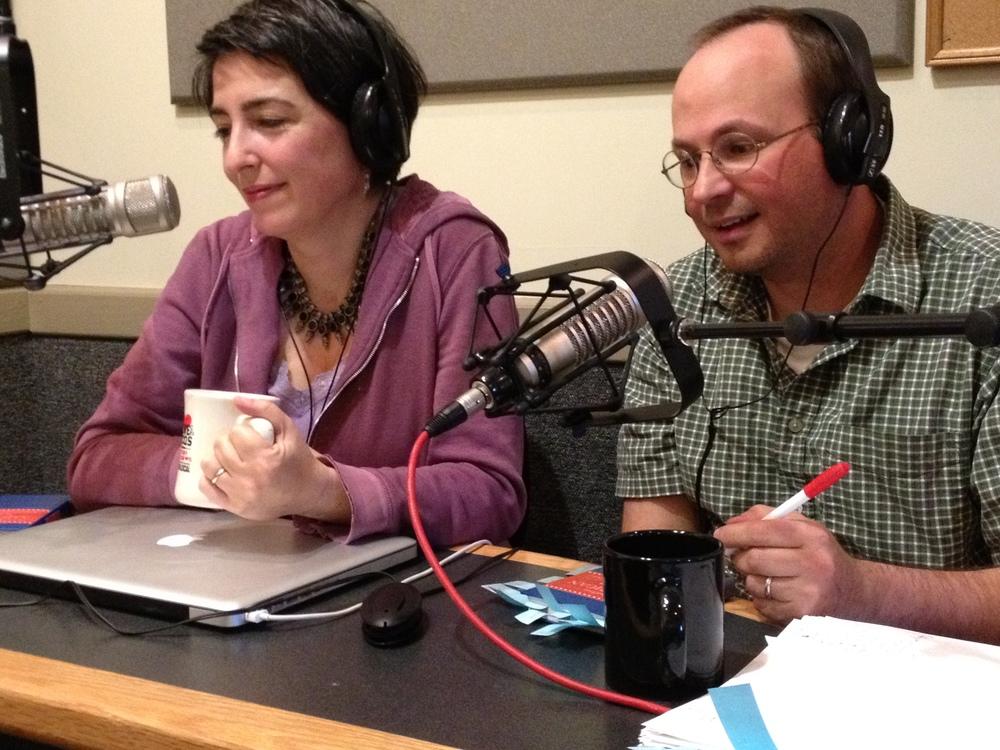 Radio interview, Asheville, NC.