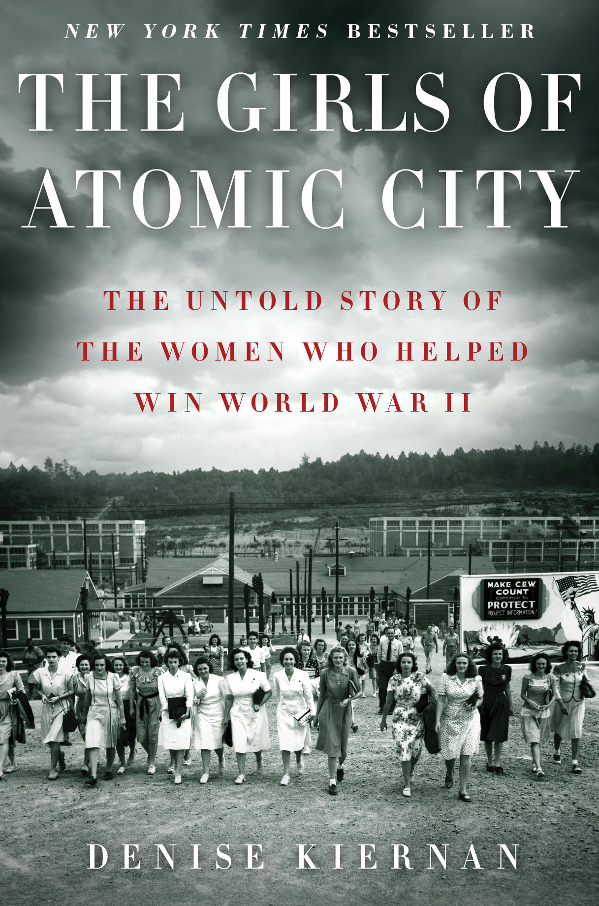 Girls of Atomic City — National Tour in May & June    My wife Denise Kiernan is hitting the road May and June to promote her book,   The Girls of Atomic City .  Here's the list of cities, bookstores, and events. The first half is a driving tour through the Southeast; the second half will see her bopping around the U.S. to various bookstores. The list is finalized except for three cities, marked  to be determined.       SOUTHERN DRIVING TOUR             Charlotte, NC         Thursday, May 2       Park Road Books 7 pm        4139 Park Rd.       Charlotte, NC       *Talk, Q&A, Signing              Greenville, SC         Friday, May 10         Fiction Addiction 12 pm         Venue:    City Range Restaurant       615 Haywood Rd.       Greenville, SC       *Lunch Event & Signing              Nashville, TN         Tuesday, May 14         Parnassus Books 6:30 pm        3900 Hillsboro Pike       Nashville, TN       *Talk, Q&A, Signing                Raleigh, NC         Thursday, May 16         Quail Ridge Books 7:30 pm        3522 Wade Ave.       Raleigh, NC       *Talk, Q&A, Signing              Southern Pines, NC         Friday, May 17         Country Bookshop 4:30 pm        140 NW Broad St.       Southern Pines, NC       *Talk, Q&A, Signing                Chapel Hill, NC         Saturday, May 18         Flyleaf Books Noon        752 Martin Luther King Jr. Blvd.       Chapel Hill, NC       *Talk, Q&A, Signing                Knoxville, TN         Tuesday, May 21         Union Ave Books 6 pm         Venue:    The East Tennessee History Center Auditorium       601 Gay St.       Knoxville TN       *Talk, Q&A, Signing                Atlanta, GA         Tuesday, June 4         A Cappella Books 7 pm         Venue:    Carter Presidential Library       441 Freedom Parkway       Atlanta, GA       *Talk, Q&A, Signing              August 30 - September 1, 2013         Decatur Festival of Books        Details TBD              Sylva, NC         Saturday, June 29         City Lights Bookstore 6:30 pm        3 East Jackson St.       Sylva, NC       *Talk, Q&A, Signing              * * *             *NATIONAL TOUR                 Milwaukee, WI         Saturday, June 8         Boswell Books 2 pm        2559 N Downer Ave.       Milwaukee, WI       *Talk, Q&A, Signing                Chicago, IL         Sunday, June 9         Chicago Tribune Printers Row Festival         Solo Presentation        Details TBD                Lexington, KY         Wednesday, June 12         Joseph-Beth Booksellers 7 pm        161 Lexington Green Circle       Lexington KY       *Talk, Q&A, Signing              Denver, CO         Friday, June 14         Tattered Cover 7:30 pm        2526 East Colfax Ave.       Denver, CO       *Talk, Q&A, Signing              Los Angeles, CA         Saturday, June 15         Vroman's Bookstore 4 pm        695 E. Colorado Blvd.       Pasadena, CA       *Talk, Q&A, Signing              San Francisco, CA         Monday, June 17         Book Passage 6 pm        1 Ferry Building       San Francisco, CA       *Talk, Q&A, Signing              Seattle, WA         Wednesday, June 19         Elliot Bay Book Company 7pm        1521 Tenth Ave.       Seattle, WA       *Talk, Q&A, Signing              Albuquerque, NM         Friday, June 21         Bookworks       Albuquerque, NM        Venue TBD