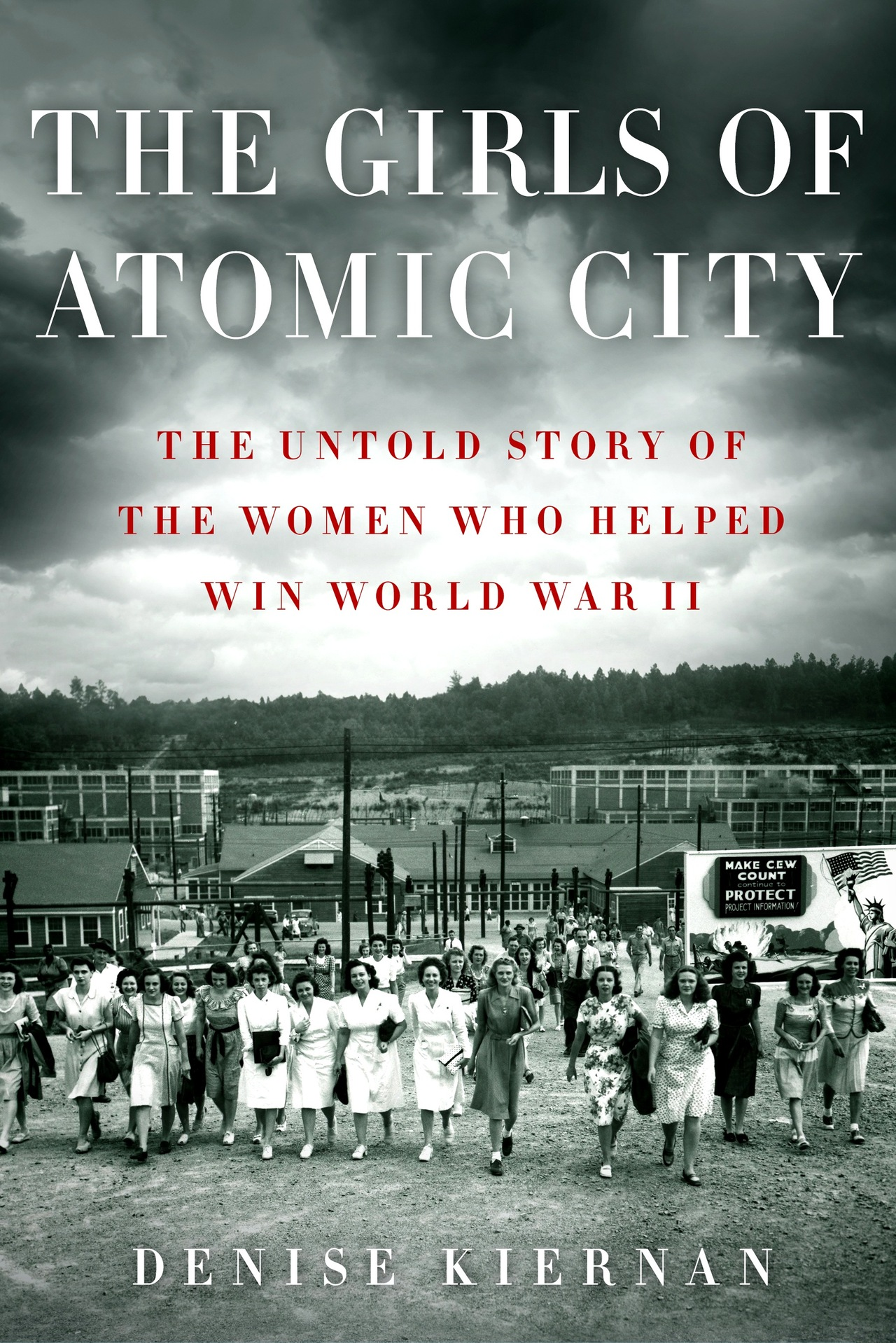 The Girls of Atomic City—take two! My wife's publisher cooked up a new cover to her WWII book, which pubs in March. It's a long story, which I'll save for a rainy day. In the meantime, the pre-order giveaway continues apace. If you buy the book and forward a receipt, you'll be entered to win a Nook ereader. Details found here.