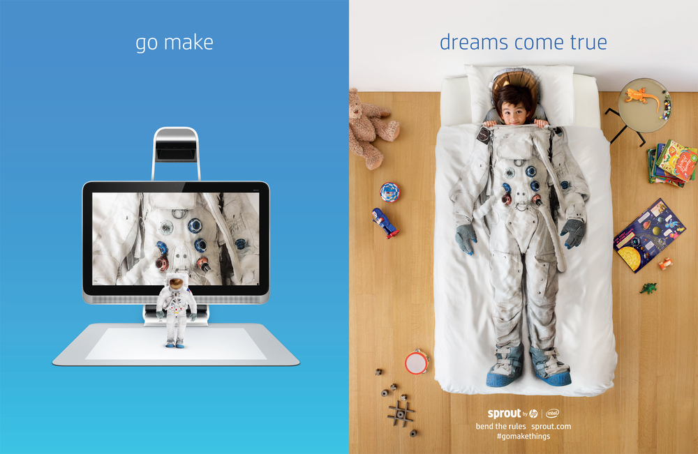 HP SPROUT - GO MAKE CAMPAIGN - AGENCY 180