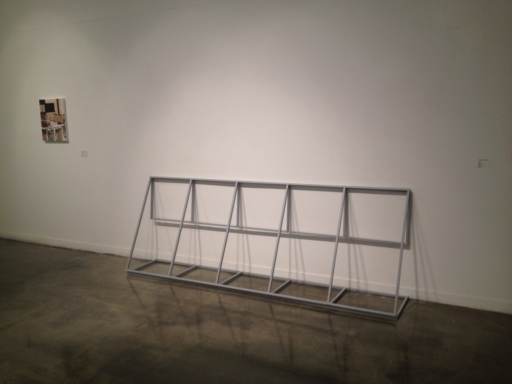 Support Structure, 2016, Marilyn Schneider.