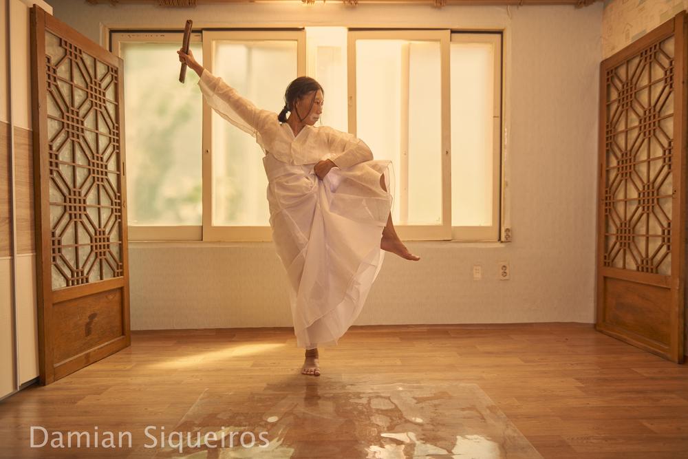 Dancer Kyong Sun Seo