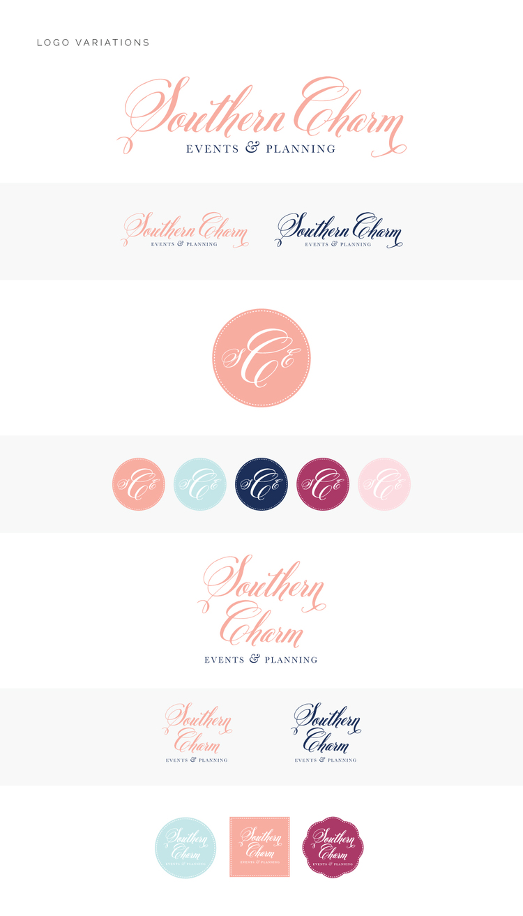 SouthernCharm_LogoVariations
