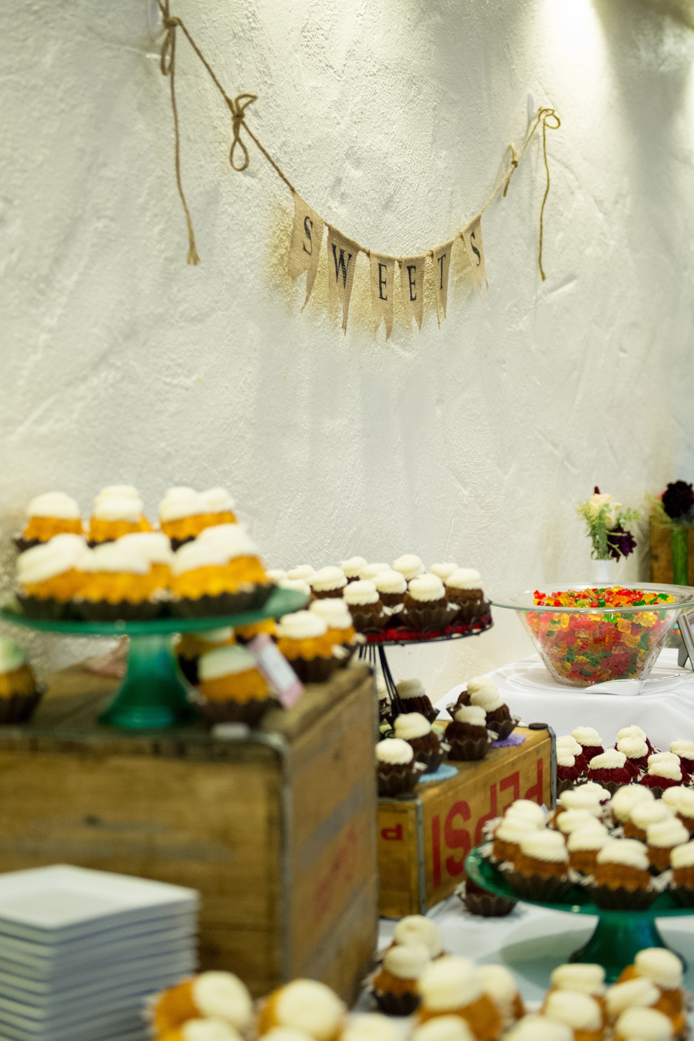 Dessert table by Nothing Bundt Cake