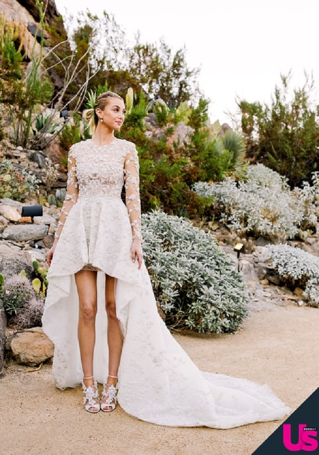 Whitney Port Wedding Dress at Colony 29 Wedding 11=7-2015