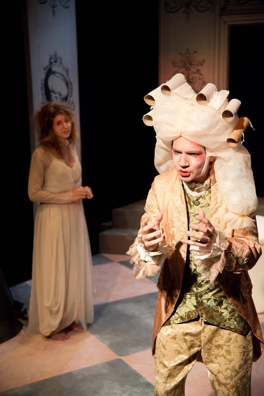 From the IRC's 2012 production of Ivona, Princess of Burgundia by Witold Gombrowicz. Photo credit: Johanna Austin.