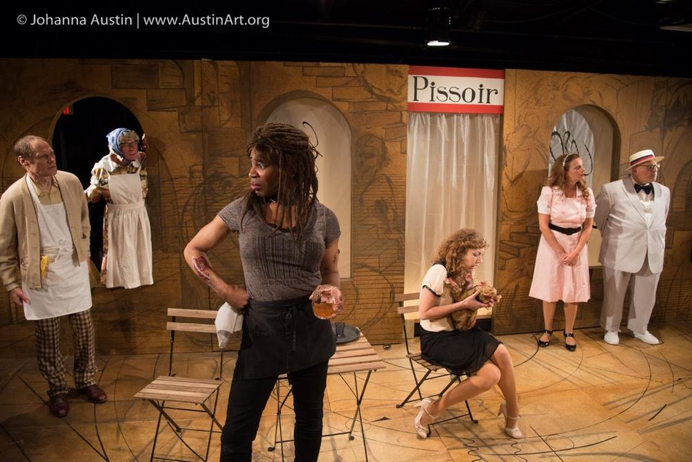 From the IRC's 2014 production of  Rhinoceros  by Eugene Ionesco. Photo credit: Johanna Austin.