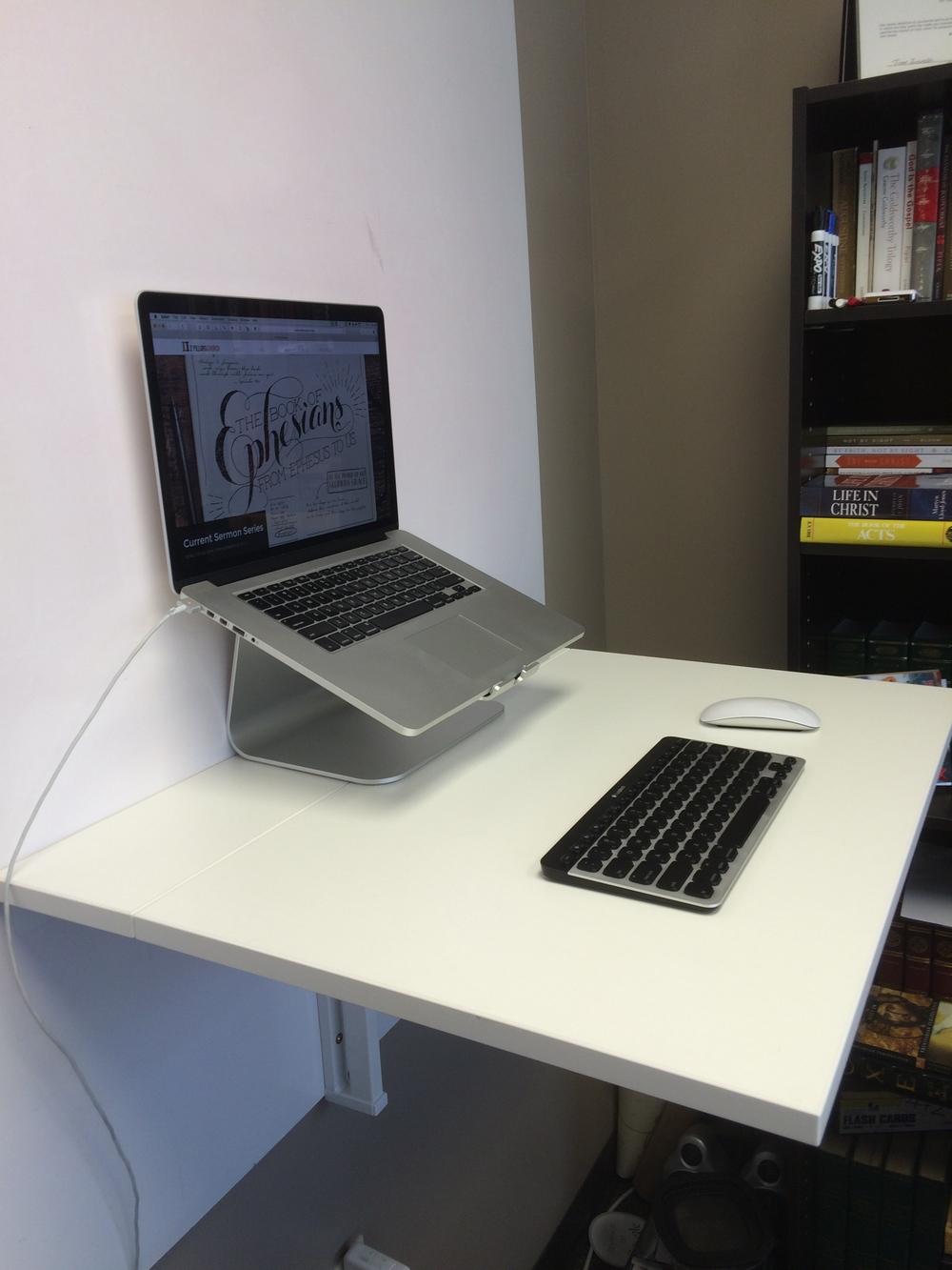 Ikea Norberg Standing Desk Adam Stahr