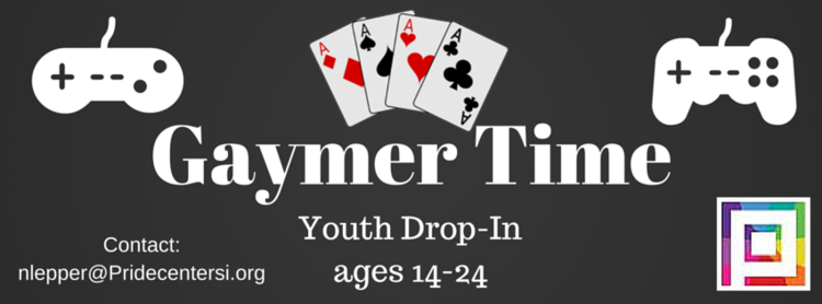 Engage peers in some friendly competition.  **All Youth drop-In activities and events are for youth 13-24 years old who have completed Youth Drop-In orientation. Orientation is offered Wednesdays and Fridays at 4 pm If you have any questions please contact: nlepper@pridecentersi.org
