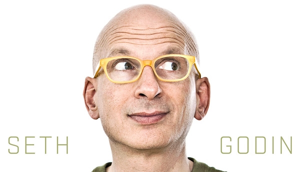 Seth Godin — Marketing Thought Leader & Author of several NYT Best Sellers including, Permission Marketing