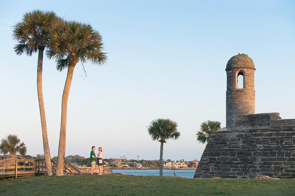 Saint Augustine Surprise Proposal Photography