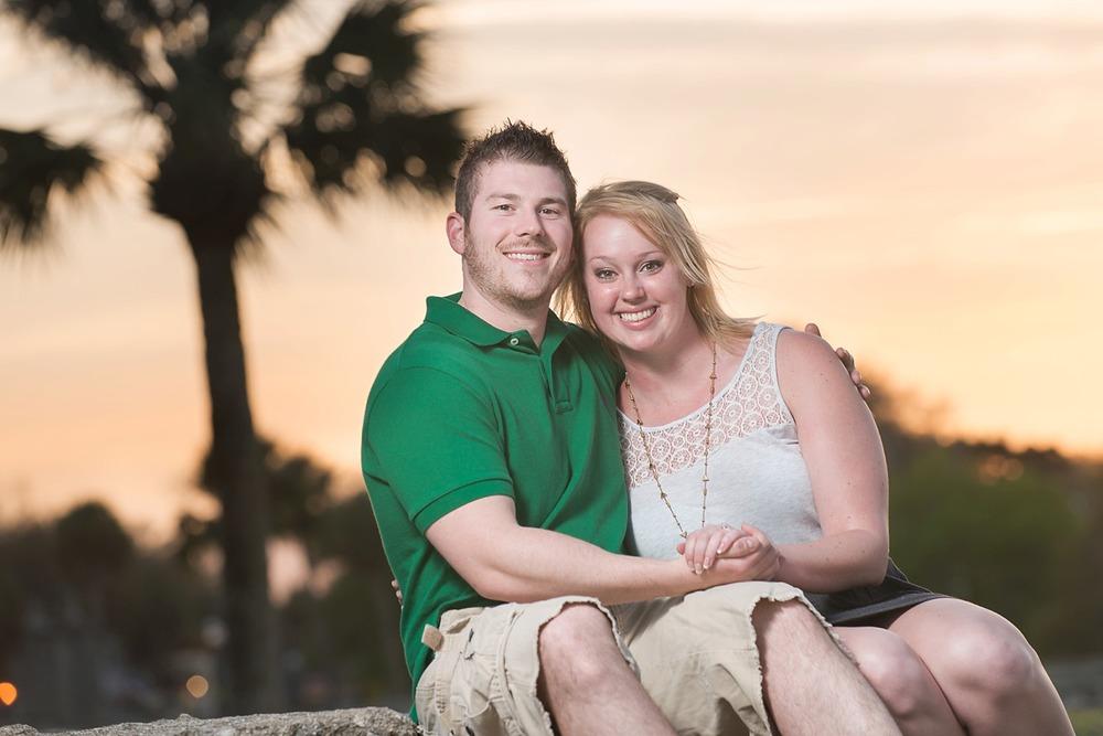 Engagement Photographer Saint Augustine Florida