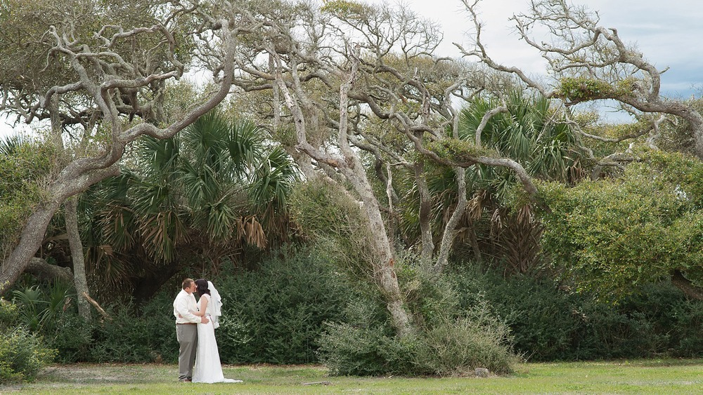St Augustine Beach Wedding
