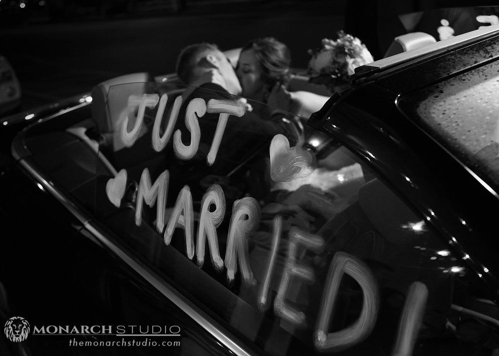 Wedding Exit St. Augustine Florida