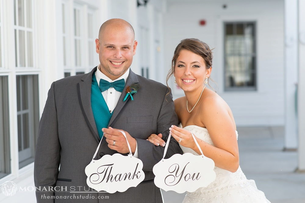 Thank you Wedding Card Photography