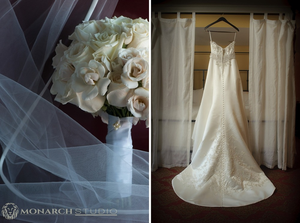 Casa Monica Bridal Suite Wedding Photos