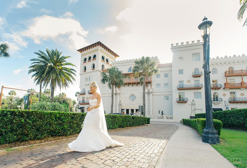 First Look St. Augustine Wedding
