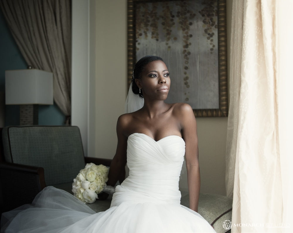Atlantic Beach Wedding Photography bridal portrait from The Monarch Studio's Julie Walters.