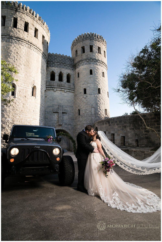 St. Augustine Castle Wedding
