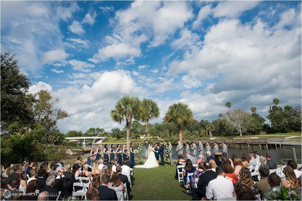 Perfect waterfront wedding in Palm Coast