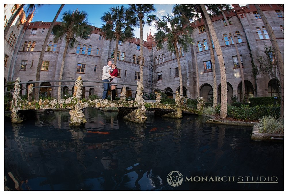 Surprise Proposal in the Lightner Museum Courtyard!