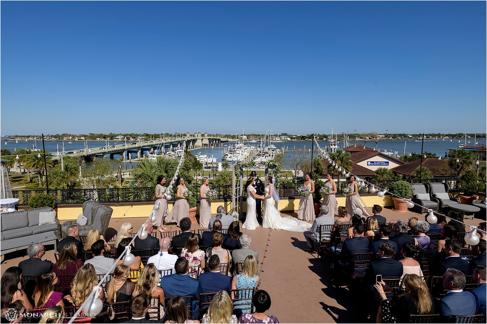 Our beautiful brides joined lives at St Augustine's waterfront wedding venue. The Whiteroom