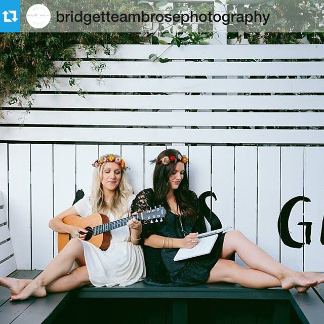 A big thank you to @bridgetteambrosephotography for her work yesterday with @sestramusic!  #Repost ・・・