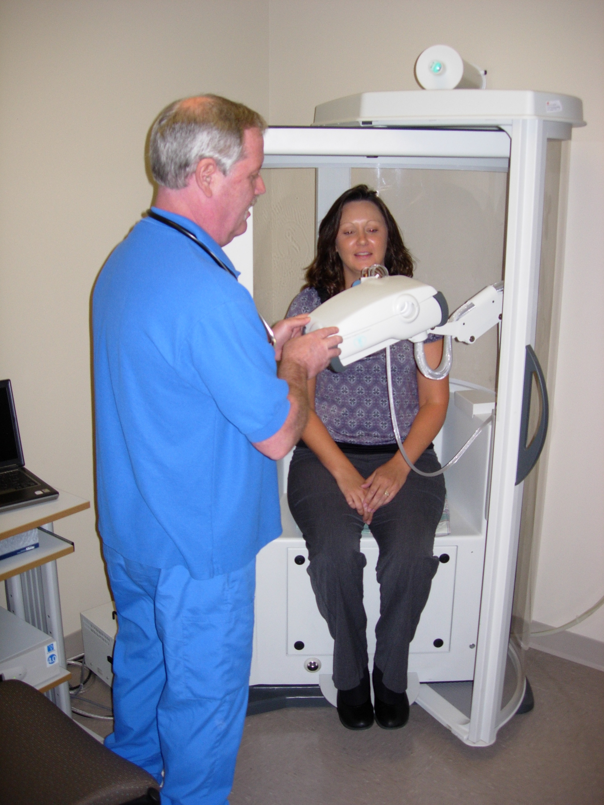 The Respiratory staff offer a full range of services to assist the breathing impaired, and to assist your practitioner to diagnose conditions of the respiratory system.