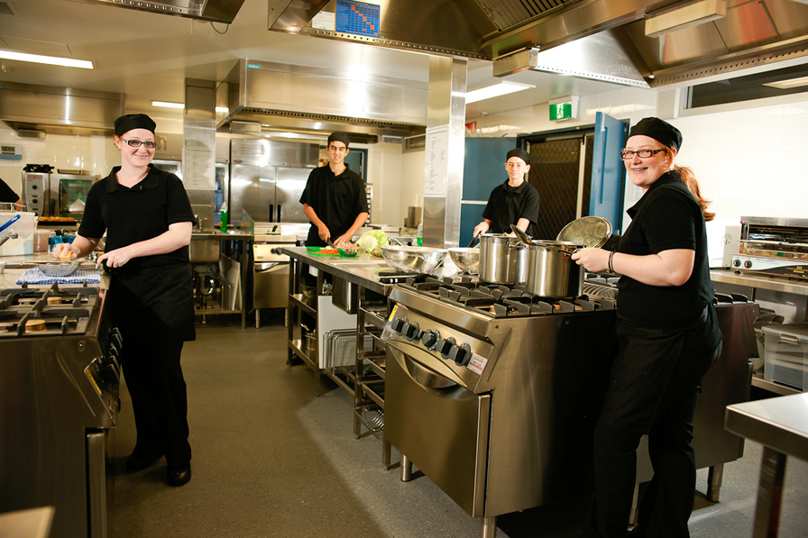 The Nutritional Services team provide just part of SCKMC's hospitality services.