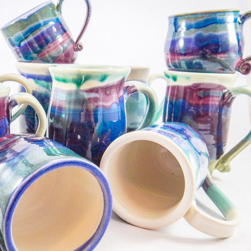 Various Mugs, stoneware.jpeg