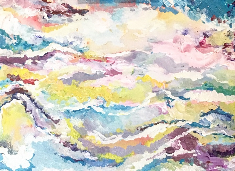 """Post Nepal Painting #2"", 12"" x 16"", acrylic on canvas.jpeg"