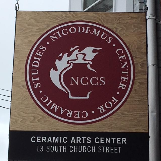 The Ceramic Art of Waynesboro's store front 13 South Church Street, Waynesboro, PA