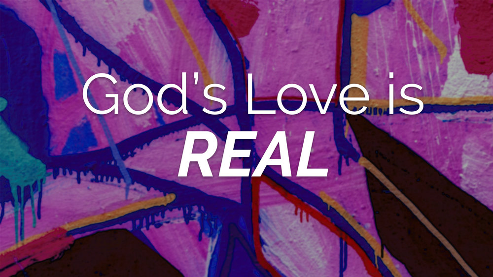 "The truth is, we all wanted to be loved – cared about, known, accepted – without love we are lost (yikes!) BUT there is good news!  Because God's love is REAL. It changes everything. Fake love is just that…fake.  But true love, God's love, is REAL. When we receive His love we experience freedom, healing, peace, joy, and more! Even when things on the outside are CRAZY, and we are going through hard things, we are always safe and at home in God's love. Jesus told a powerful story to demonstrate God's REAL love. It was about 2 brothers and their dad.  One son turned his back on his father and left in search of something ""more"". But when he came up empty, he turned home hoping to just be a servant in his father's house. Instead, his dad ran to meet him and welcomed him back as his son. Read the whole thing in Luke 15."