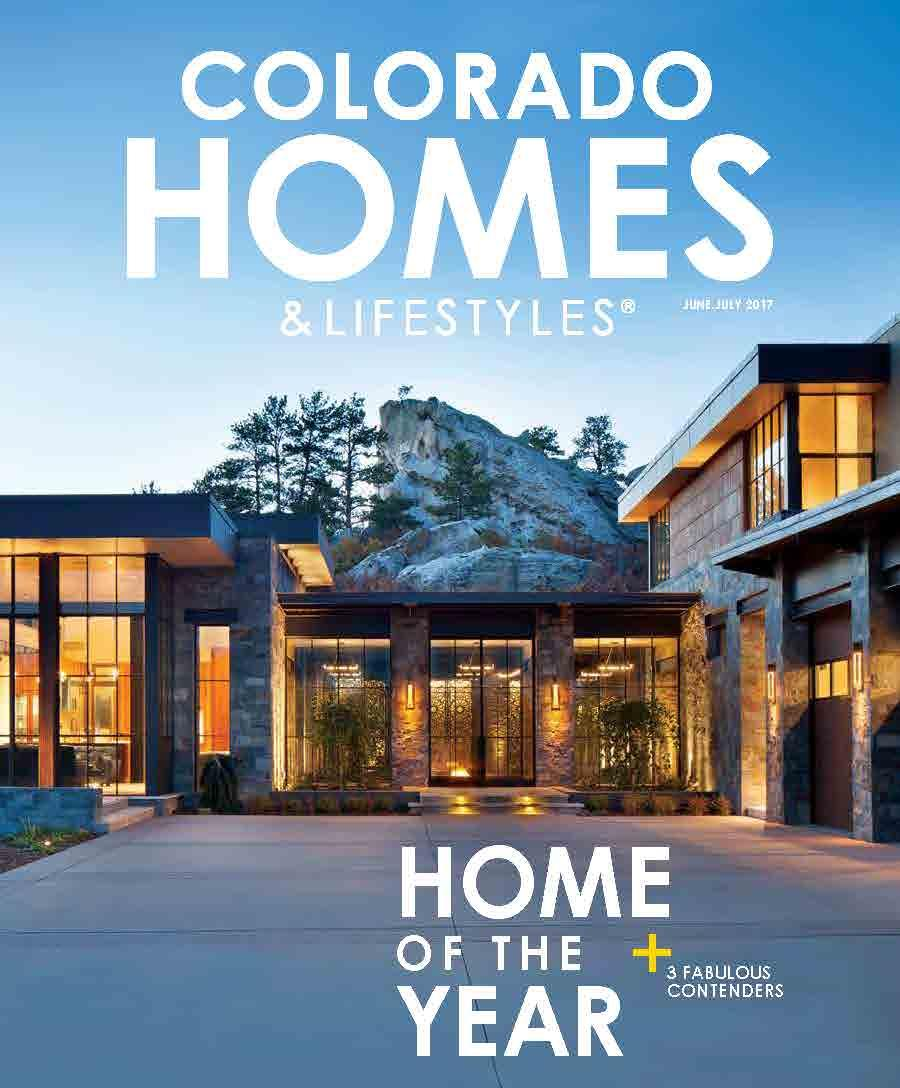 Colorado Homes & Lifestyles Awards Harrison Home Systems Project - Tazi Ranch - 2017 Home of the Year