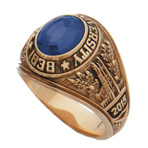COMING SOON! Class Ring: Picture shown is example of product student will receive.