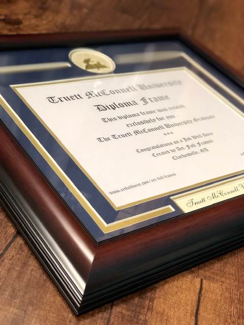 Diploma Frames - A variety of options available