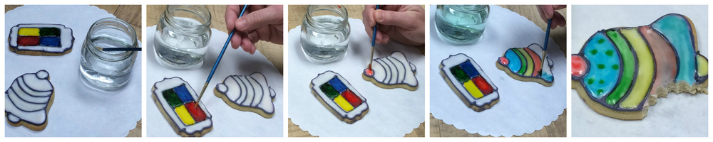 paint-it-yourself cookies