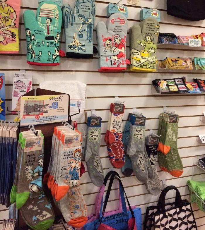 Funny Socks & Oven Mits