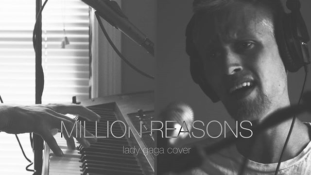 "New cover of Lady Gaga's ""Million Reasons"" is live! Check it out via the link in my bio. 😃"