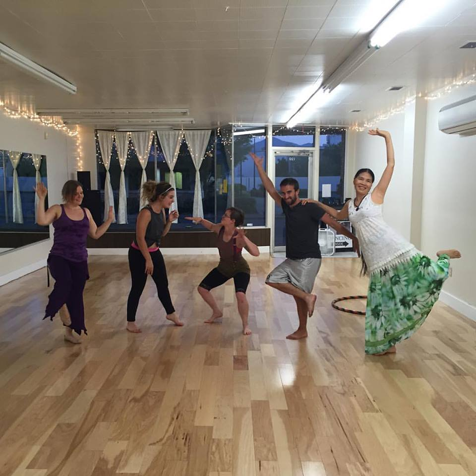 Shiloh and I have been hosting Ecstatic Dance at Candela Dance Studio (122 NE F St., Grants Pass, OR) for years! Come join us Thursday nights at 7:30pm!