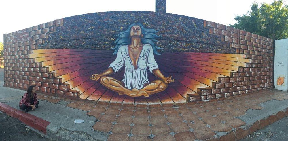 Someone else's wall art. I like both. ;)
