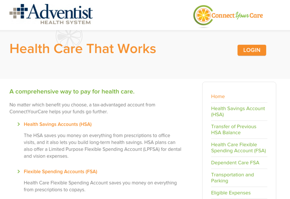 Connectyourcare.com (HSA PLAN)